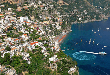 taxi Service from Naples to Positano