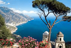 Transfer from Naples airport to Ravello at fixed prices.